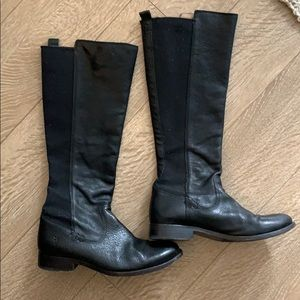 Frye mid calf riding boots size 6.5